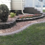 grey concrete curbing photos