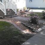 concrete curbing sidewalk