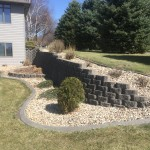 gray concrete curbing photos
